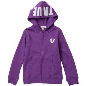 True Religion TR Hoodie Bright Purple